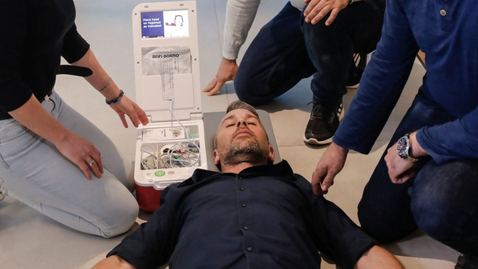 SALI from Inovytec provides everything bystanders need to begin first aid. (Courtesy of Inovytec)